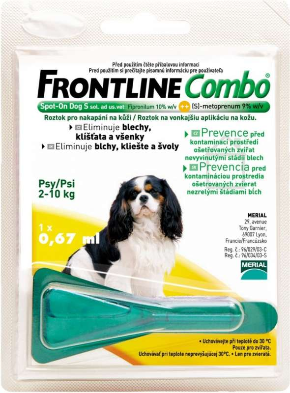 Frontline Spot-On Combo dog S Merial, Lyon