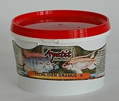 Apetit Cichliden granus 0-570ml/300g,hlavní krmivo pro mladé cichlidy a ostatní okrasné ryby