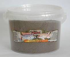 Apetit Cichliden Bits,kbelík 3L, 1kg, pomalu klesající speciélní krmivo pro rostlinožravé akvarijní ryby včetně chichlid