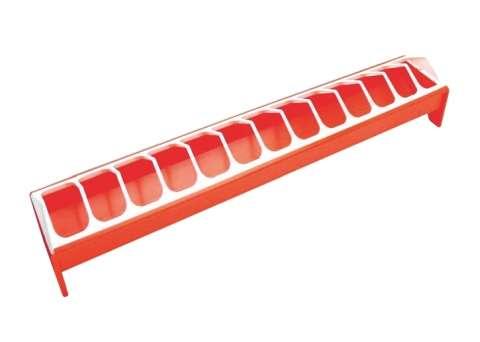 Krmítko pro slepice plastové 50cm Kerbl