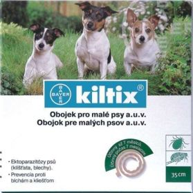 BAYER Kiltix obojek pro malé psy 35cm BAYER Animal Health