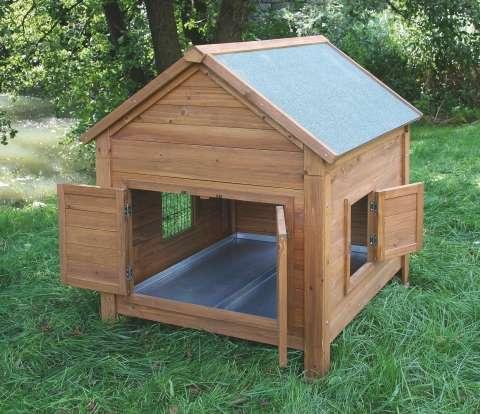 Domek pro králíky nebo slepice, vhodné umístit do výběhu Kerbl