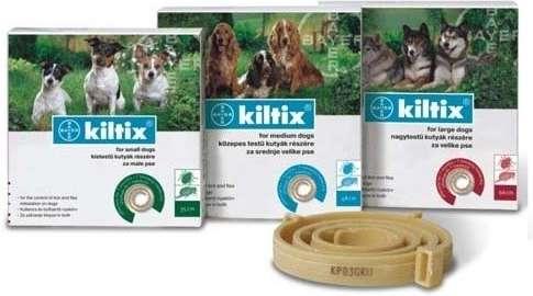 BAYER Kiltix obojek pro střední psy 53cm BAYER Animal Health