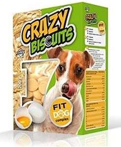 CRAZY Biscuits Piškoty pro psy 200g Dibaq