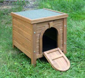 Domek pro králíky venkovní pevný Kerbl