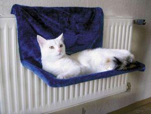 Lehátko na topení kočka Paradies | Lehátko Paradies bílé, Lehátko Paradies hnědá-béžová, Lehátko Paradies modré