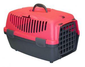 Přepravka pro kočky Gulliver 1 plast červený Kerbl