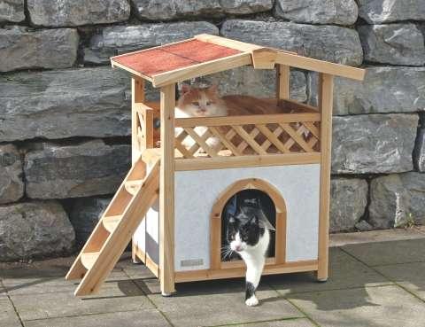 Venkovní domek pro kočky Tyrol Alpin