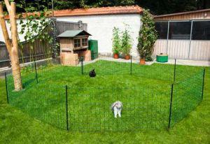 Síťová ohrada pro králíky 50m, 65cm, dva hroty