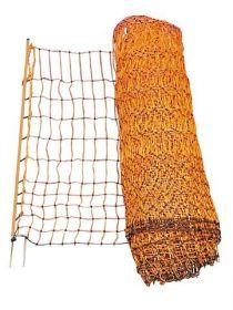 Síťová ohrada pro psy 50m, oranžová