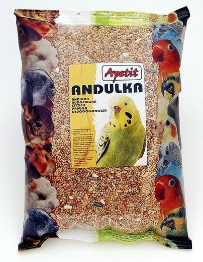 Apetit Andulka 0,8kg, základní krmivo pro andulky