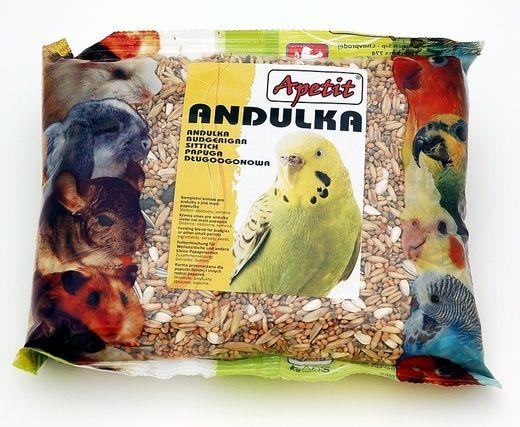 Apetit Andulka 400g, základní krmivo pro andulky