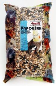 Apetit Papoušek 0,8kg, základní krmivo pro malé a střední papoušky