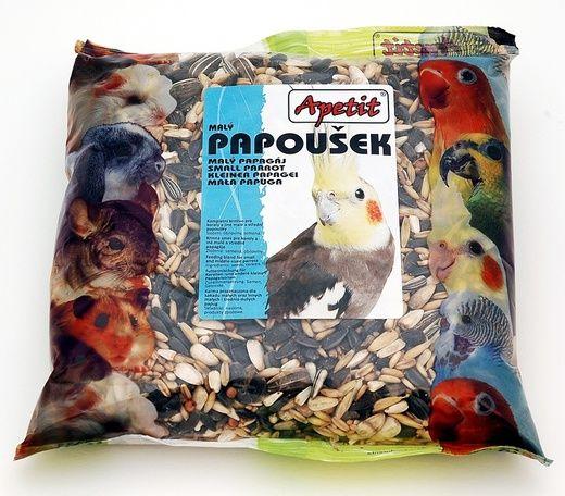 Apetit Papoušek 400g, základní krmivo pro malé a střední papoušky