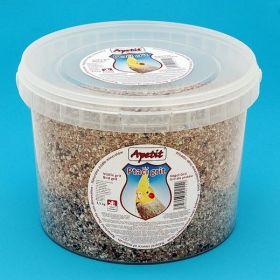 Apetit - Ptačí grit 3,5kg, vědro 3L