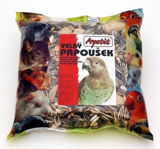 Apetit Velký papoušek 400g, základní krmivo pro velké poušky