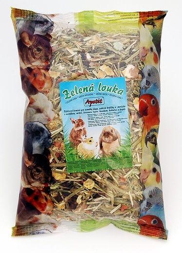 Apetit Zelená louka 400g, krmivo pro hlodavce ze sušených plodin