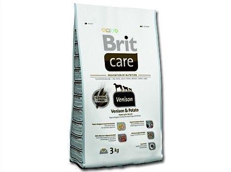 Brit Care Venison zvěřina 3kg Vafo Praha