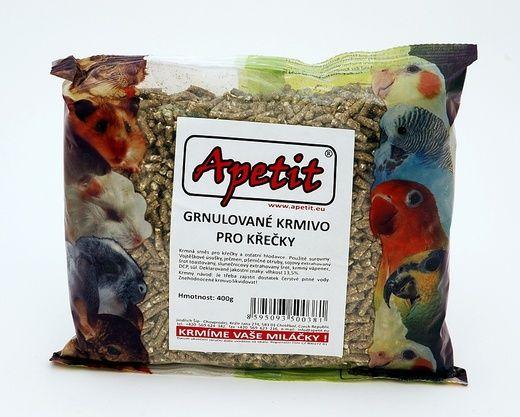 Granule pro křečky 400g (pro drobné hlodavce) Apetit