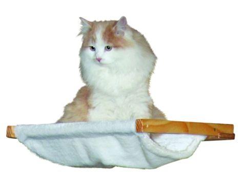 Odpočívadlo a lehátko pro kočky DOLOMIT hamaka nástěnné