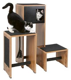 Škrabadlo pro kočky Design Ambiente černé Kerbl