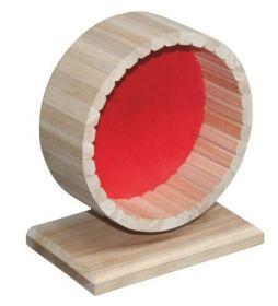 Dřevěný kolotoč pro křečky 20cm