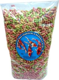 Krmivo pro venkovní a bazénové ryby 5kg