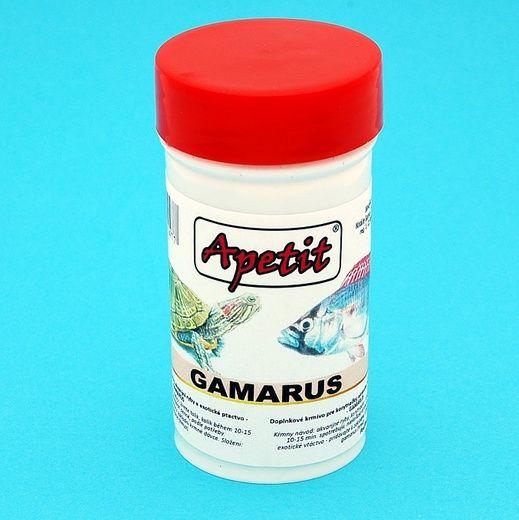 Apetit - Gamarus 10g/100ml, krmivo pro želvy, akvarijní ryby a exotické ptactvo