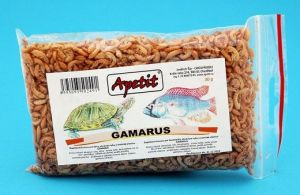 Apetit - Gamarus 30g, krmivo pro želvy, akvarijní ryby a exotické ptactvo