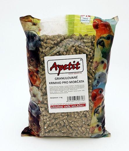 Apetit - Granule pro morčata (pro hlodavce) 0,8kg, granulované krmivo pro morčata a ostatní hlodavce