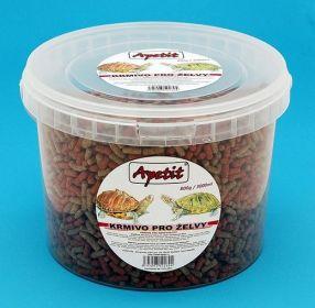 Apetit - krmivo pro želvy, vědro 3L (800g)