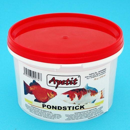 Apetit - Pondsticks 70g/570ml, kompletní krmivo pro bazénové ryby