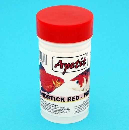 Apetit - Pondsticks Red - Premium 12g/100ml, kompletní krmivo pro bazénové ryby