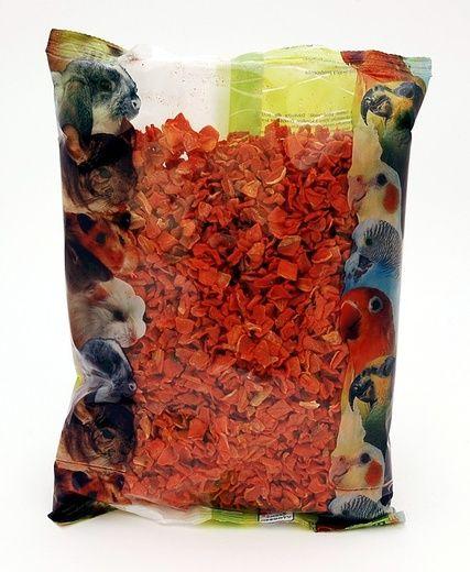 Apetit - Sušená mrkev 400g, doplňkové krmivo pro hlodavce i psy