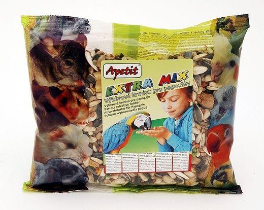 Apetit Velký Papoušek extra mix 300g, výběrové krmivo pro velké papoušky