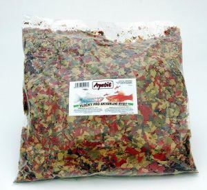 Apetit - vločky pro akvarijní ryby, Tropical Color Flakes, 500g
