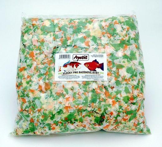 Apetit - vločky pro bazénové ryby 500g, krmivo pro bazénové ryby