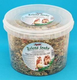Apetit Zelená Louka 1kg, vědro 3L