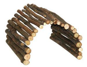 Dřevěný most pro morčata a menší holodavce