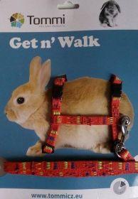 Postroj Get'n walk černá,červená |  Get n'Walk černý, Get n'Walk červený
