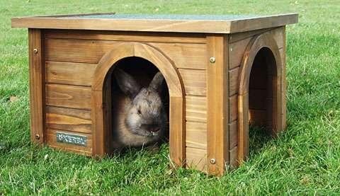 Dřevěný domek venkovní Kabina XL Kerbl