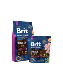 Brit-Premium Adult Small 1kg