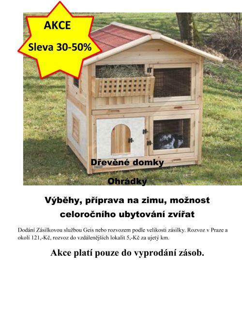 Akce dřevěné domky