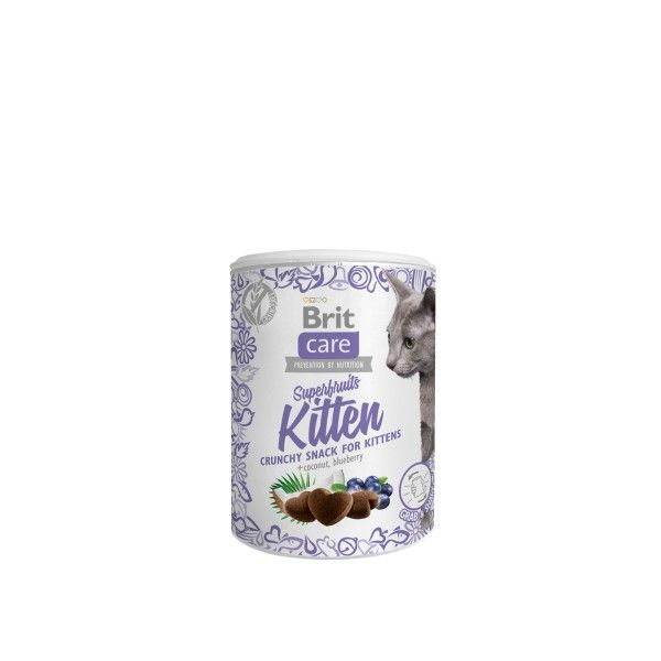 Brit Care Cat Snack Superfruits Kitten 100g Vafo Praha