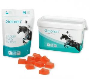 Geloren HA želatinové tablety pro koně 3x 450g višňové