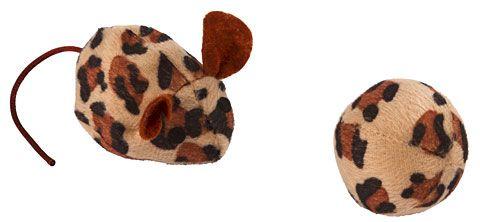 Leopard - Myš a míček