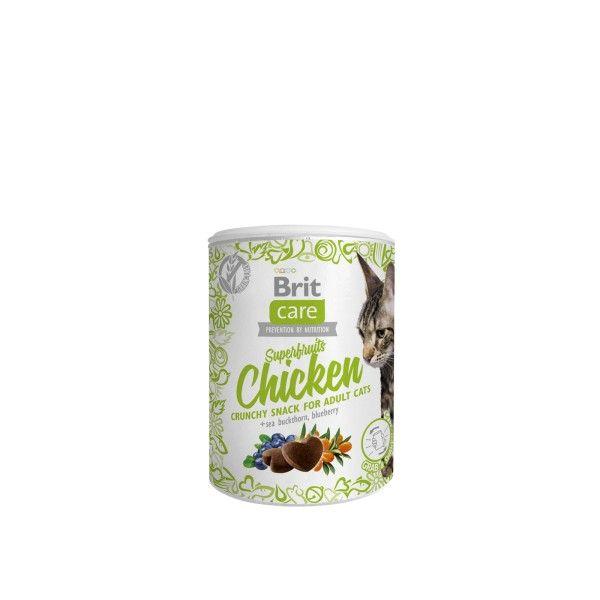 Brit Care Cat Snack Superfruits Chicken 100g Vafo Praha