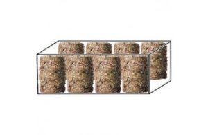 Lisované krmivo Futter Rollen karton 21kg