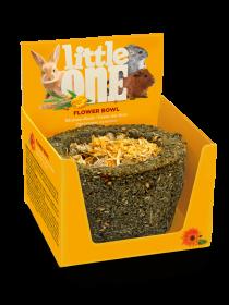 Little One Bylinková miska. Bylinková pochoutka pro králíky a hlodavce, 140 g