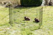 Ohrádka pro králíky, malá zvířata a štěňata vysoká, 8 dílů Kerbl